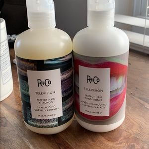 R+CO shampoo & conditioner